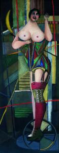 Woman (Corset), 1950