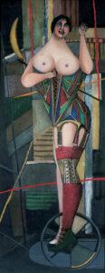 Woman (Corset), 1950 grand format