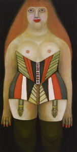 Woman in Corset (Anna), 1951
