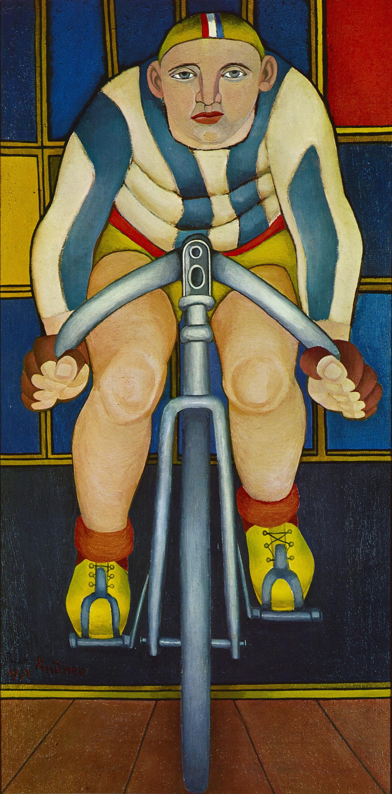 Cyclist, 1951 grand format