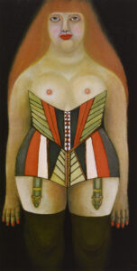Woman in Corset (Anna), 1951 grand format
