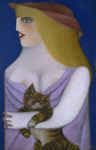 Hommage to a Cat, 1952 grand format