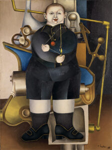 Boy with Machine, 1954