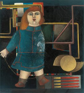 Untitled (Wunderkind, Doll), 1955