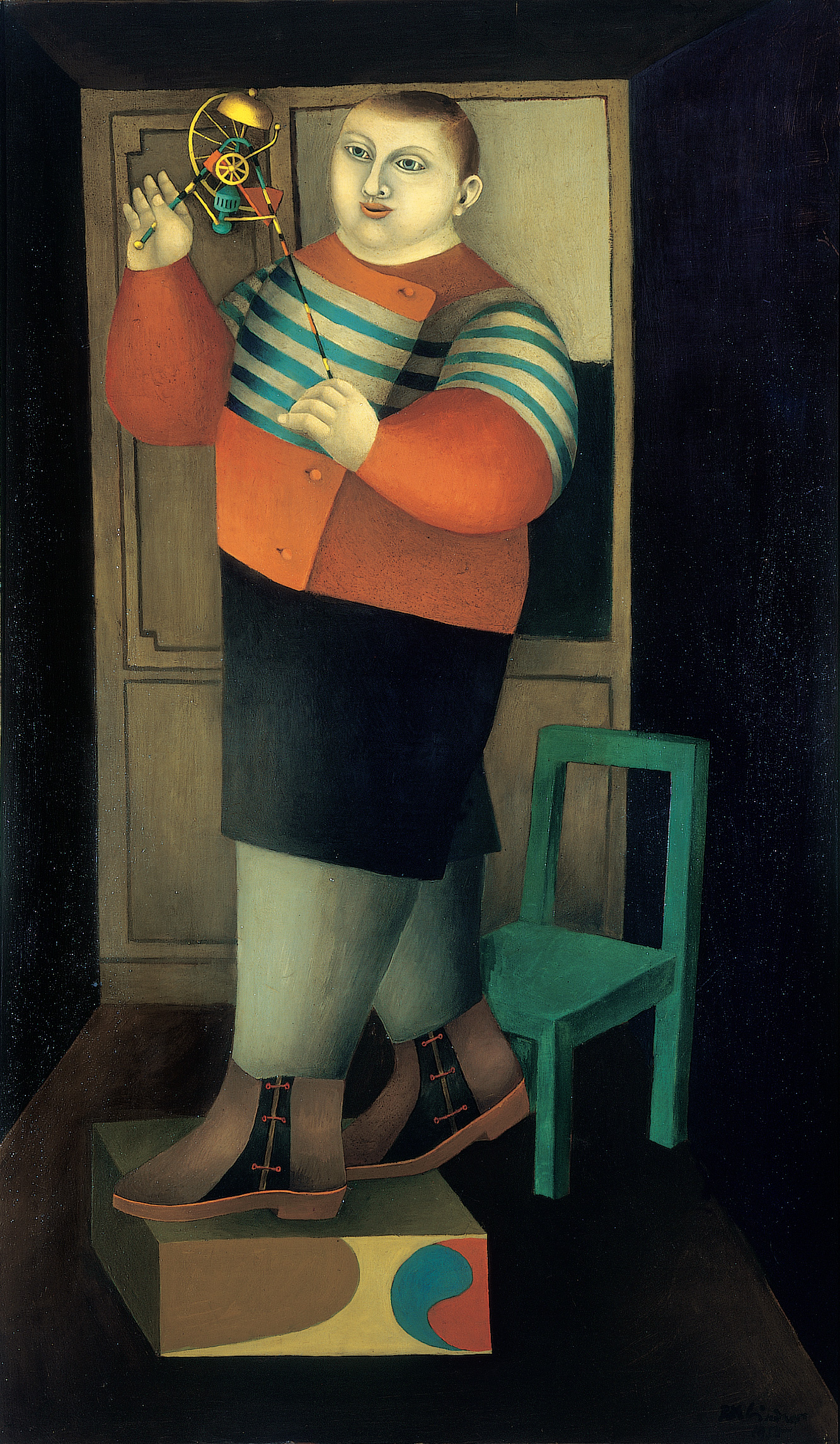 Boy with Machine, 1955 grand format