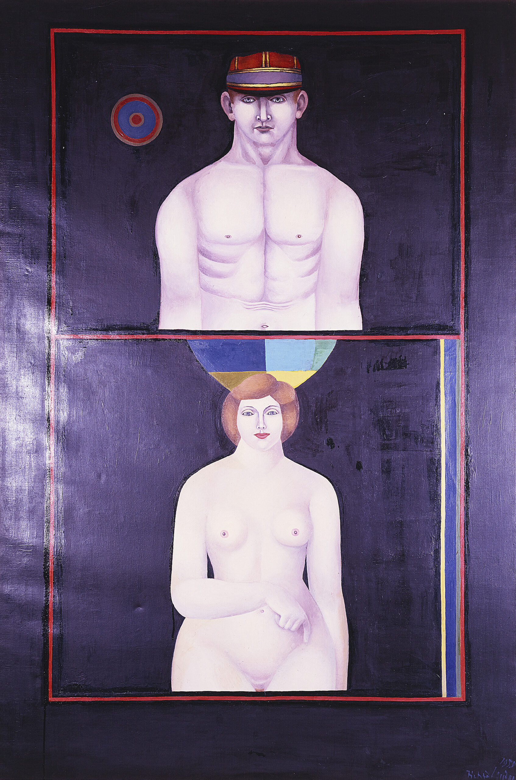 The Couple (Adam and Eve), 1955 grand format