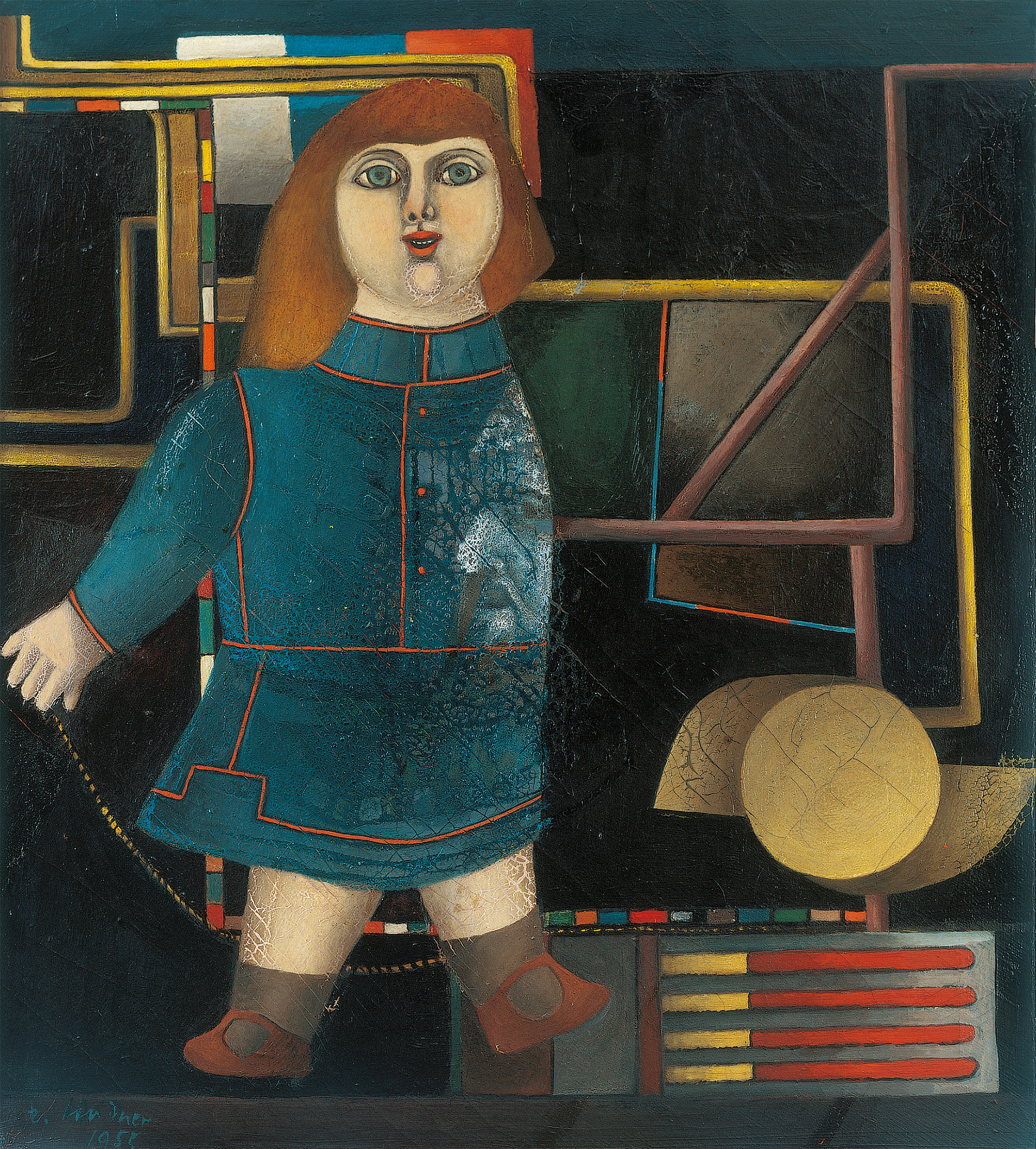 Untitled (Wunderkind, Doll), 1955 grand format