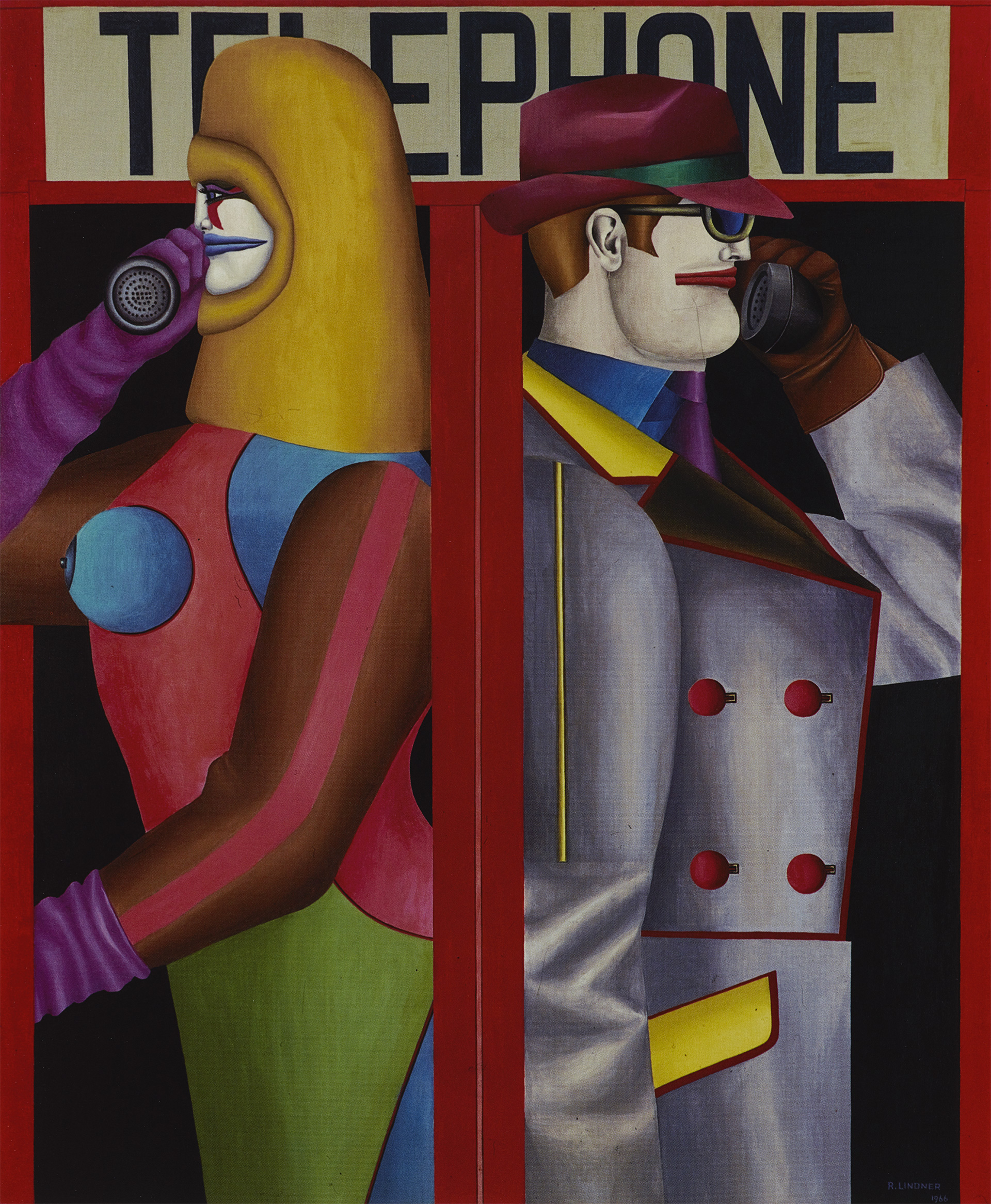 Telephone, 1966 grand format
