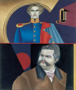 Double portrait Ludwig II, 1974 grand format