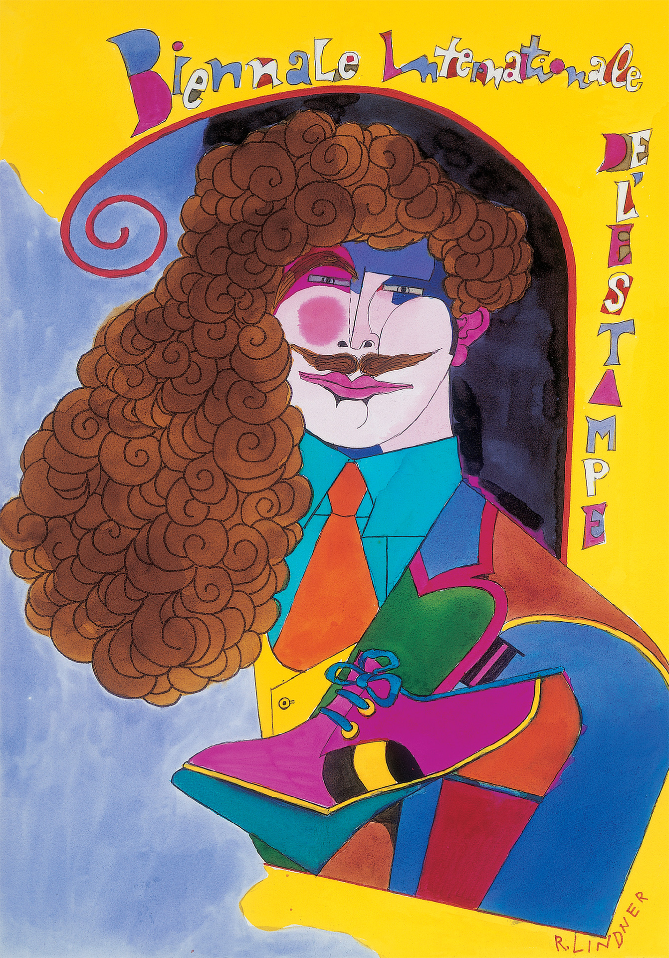 Biennale Internationale de L'Estampe, 1972 02 grand format