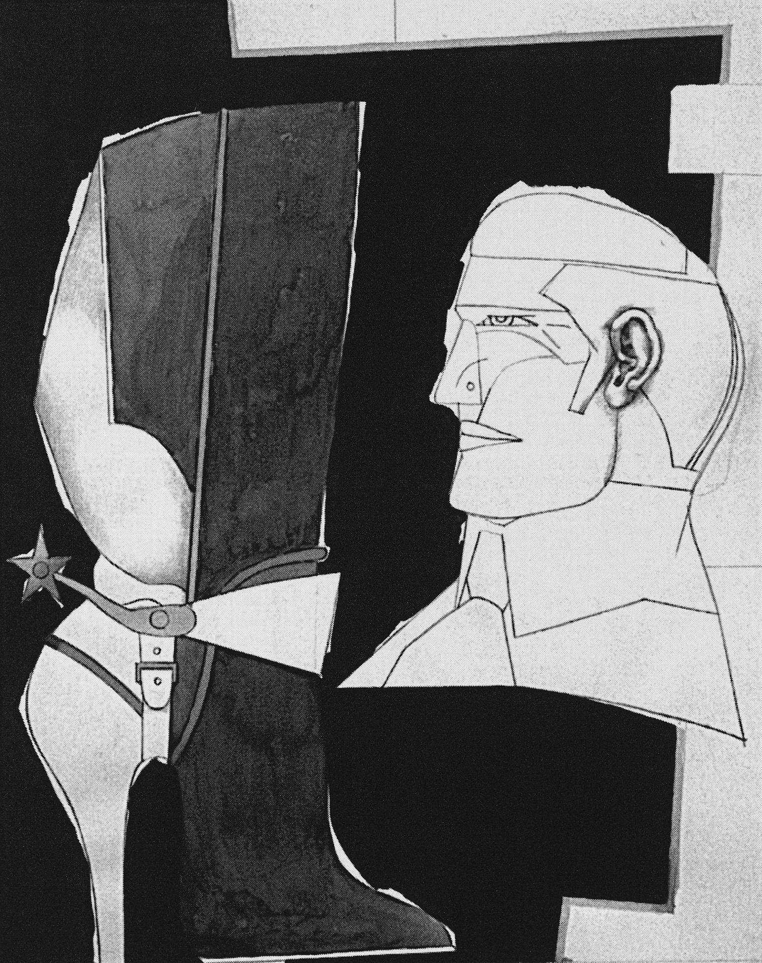 Tête d'homme, 1973 grand format