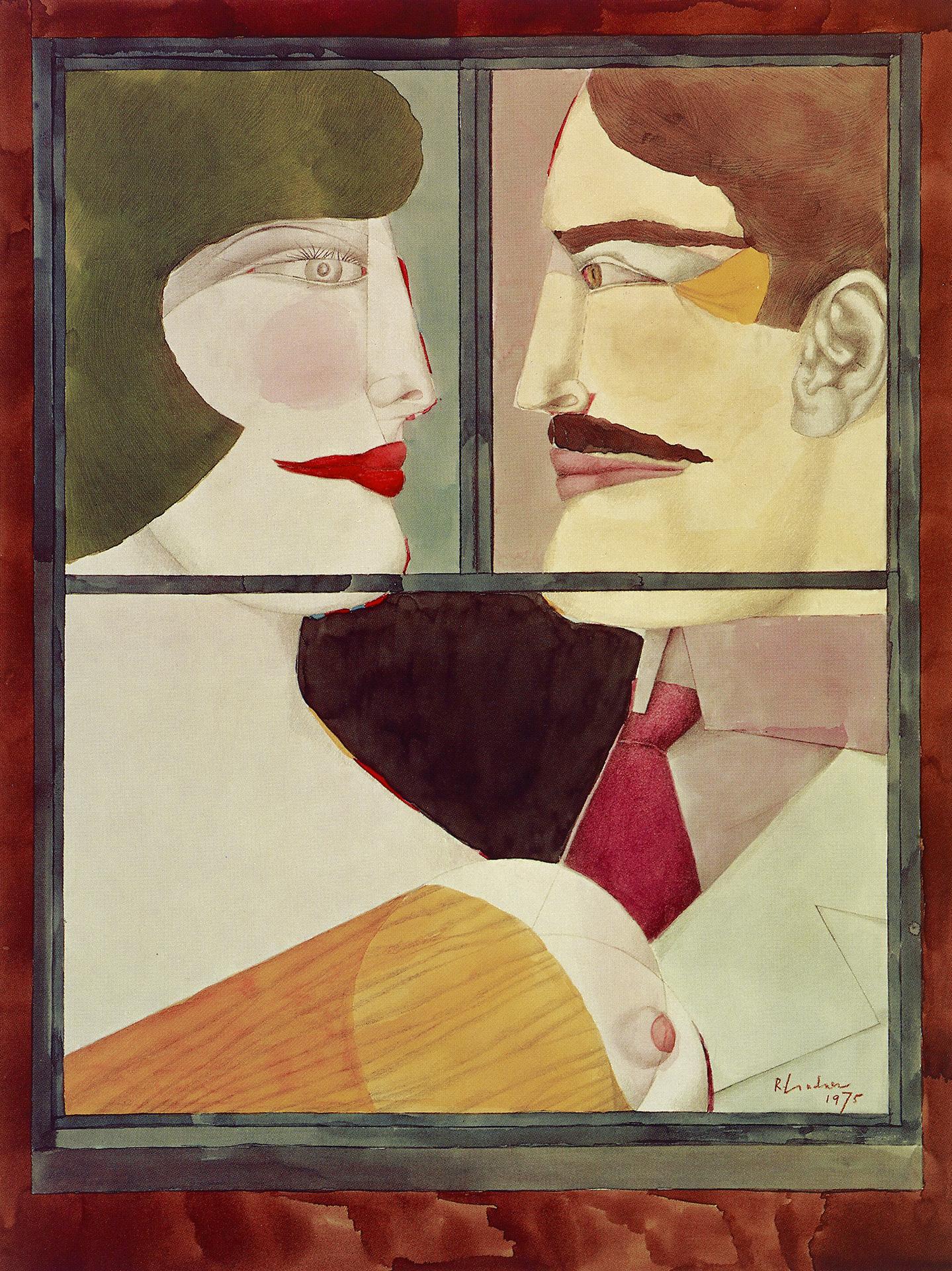 The Window (Rear Window), 1975 grand format