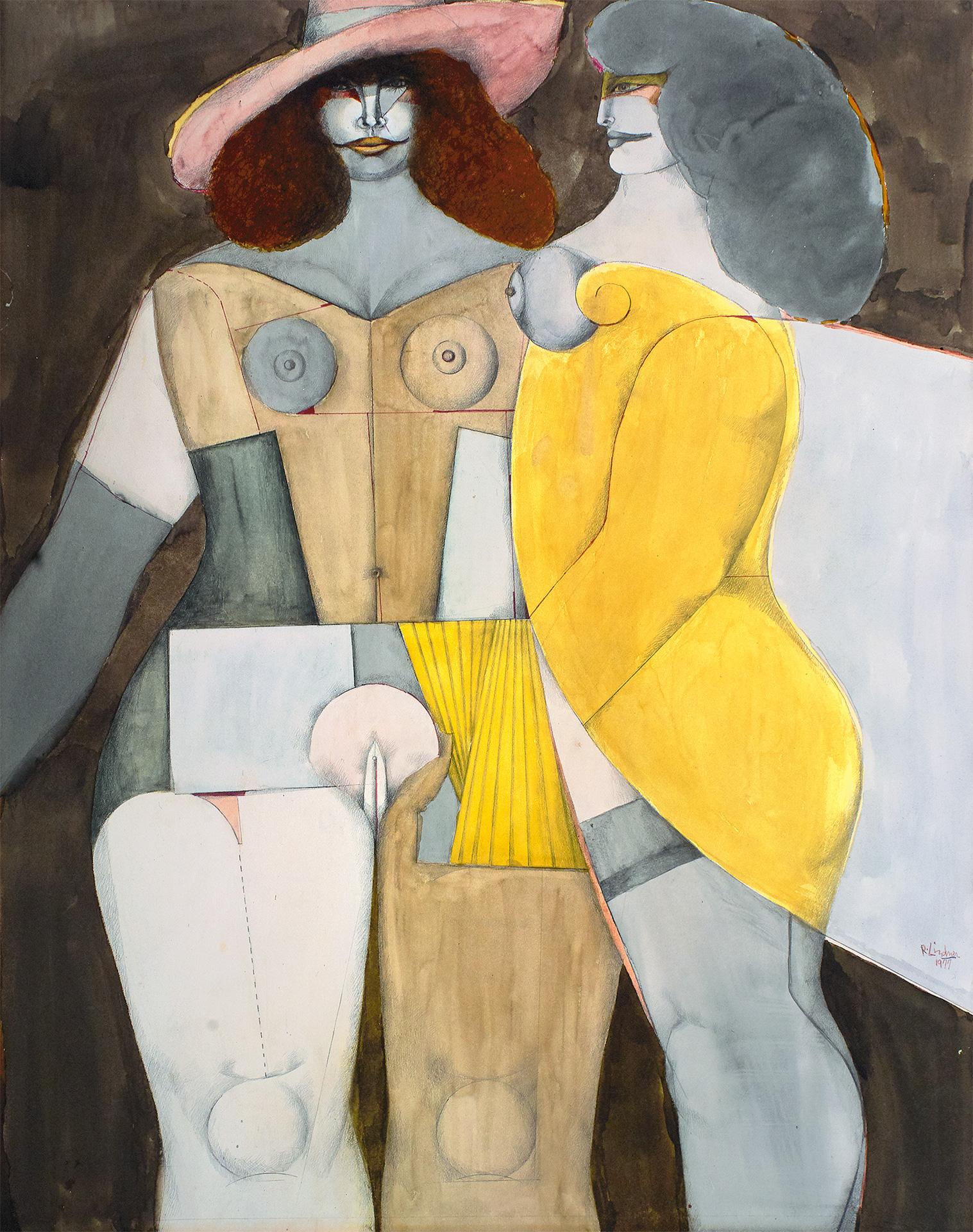 Two Women, 1977 grand format