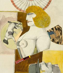 Woman and Dog, 1977