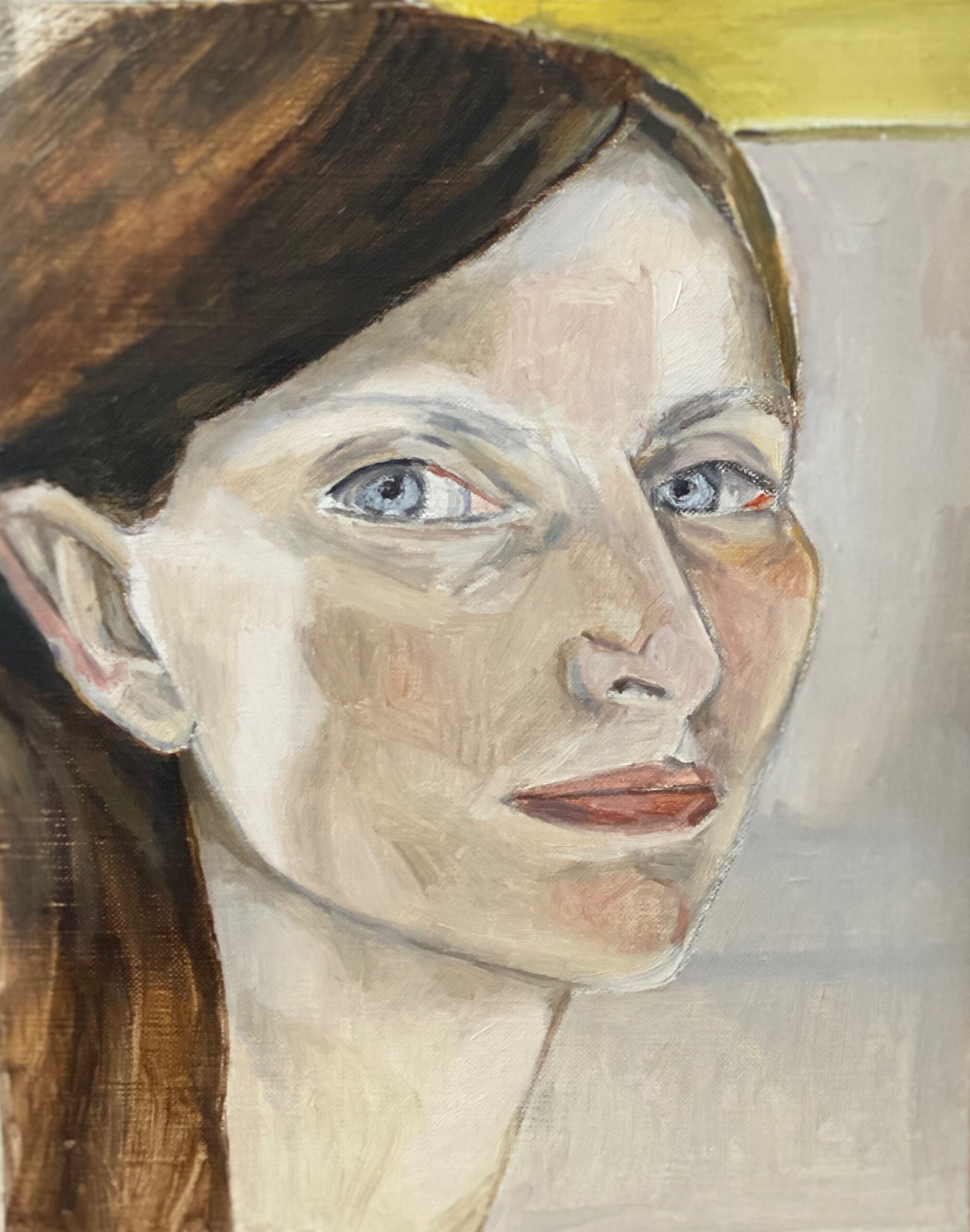 Study for Self Portrait