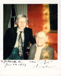 Richard Lindner and Andy Warhol
