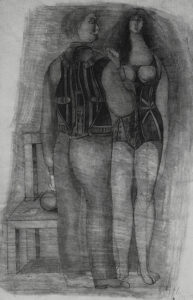 Untitled (The Couple), 19550-55