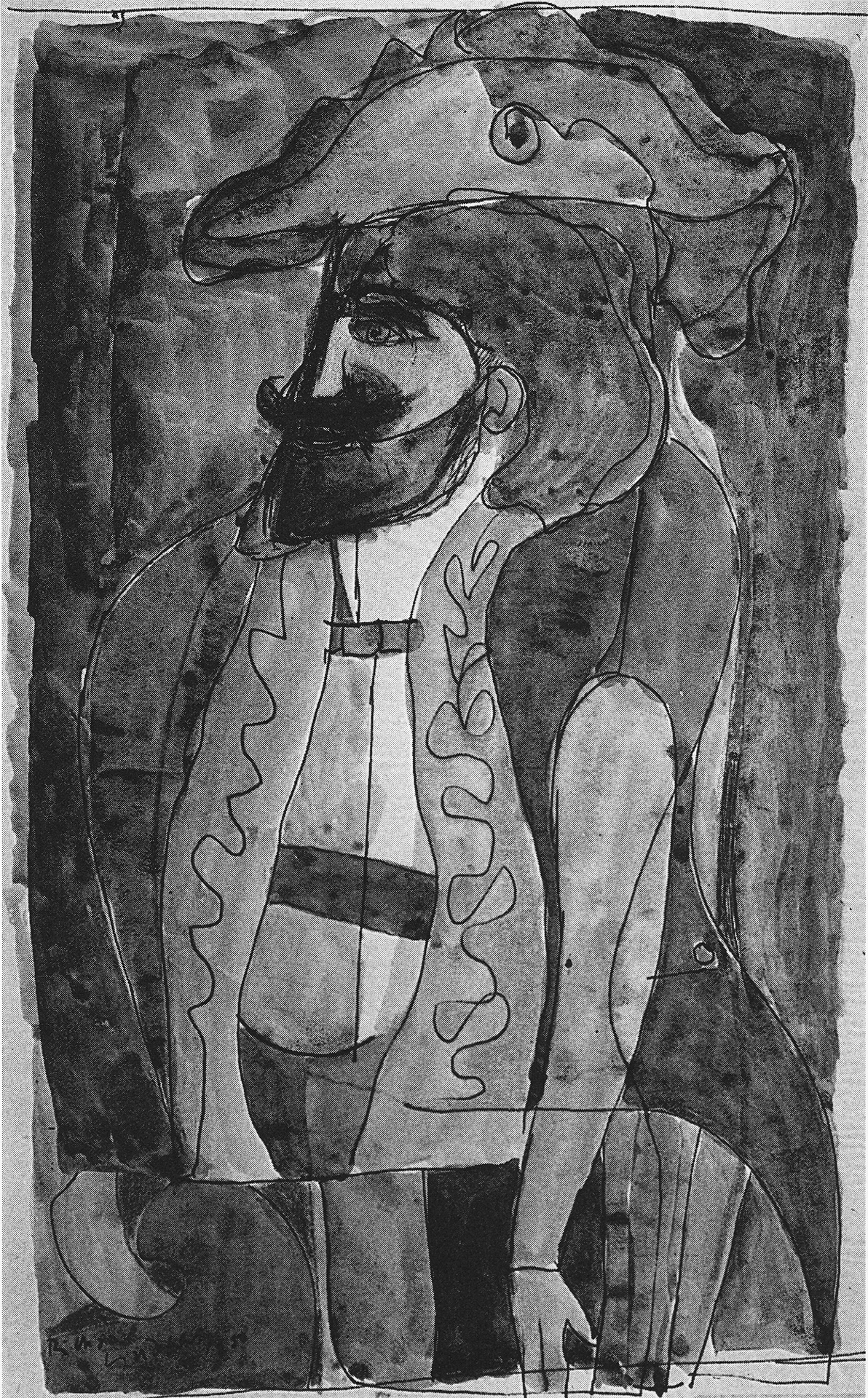 Untitled (Portrait), 1950