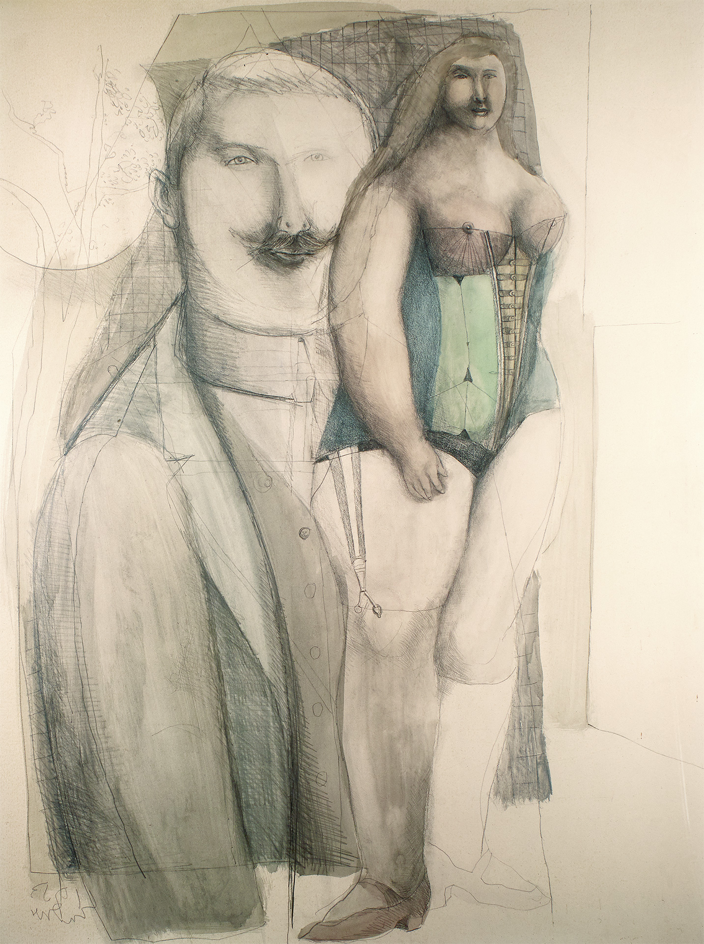 Man and Woman, 1953