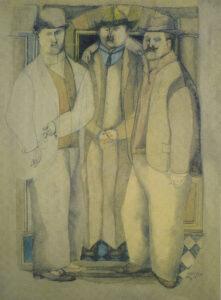 Your Three Italian Friends (Three Friends), 1953