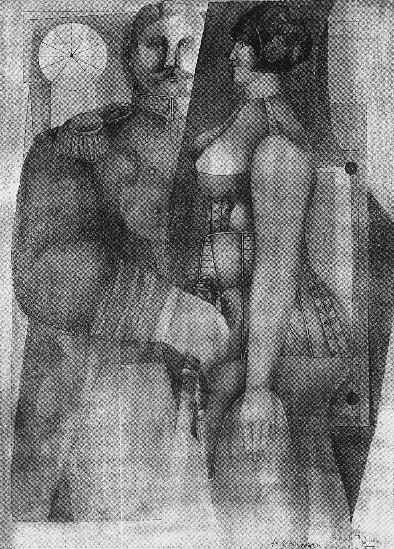 General with Model, 1954