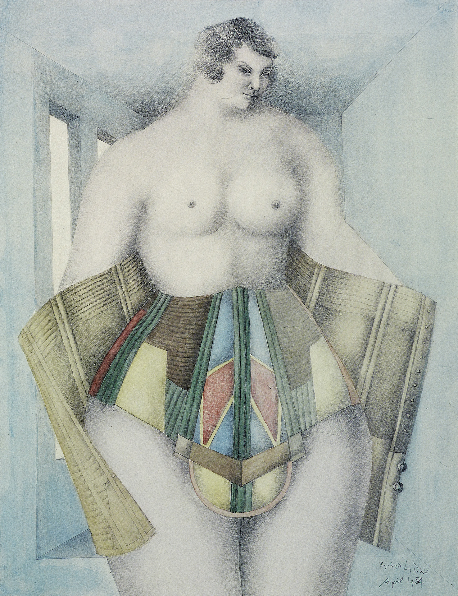 The Corset (Woman), 1954