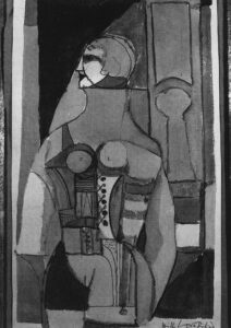 Study for Woman in Corset, 1956