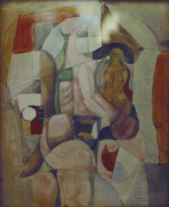 Untitled (Pause), 1958
