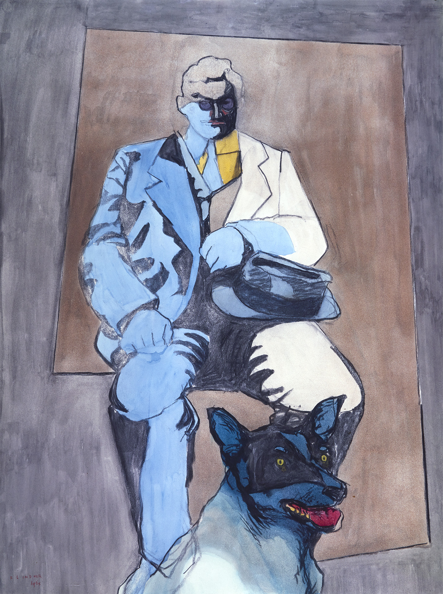 Man and Dog, 1964