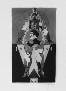 Untitled (Project for Banner), 1964