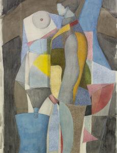 Untitled (Figure with garterbelt), 1965