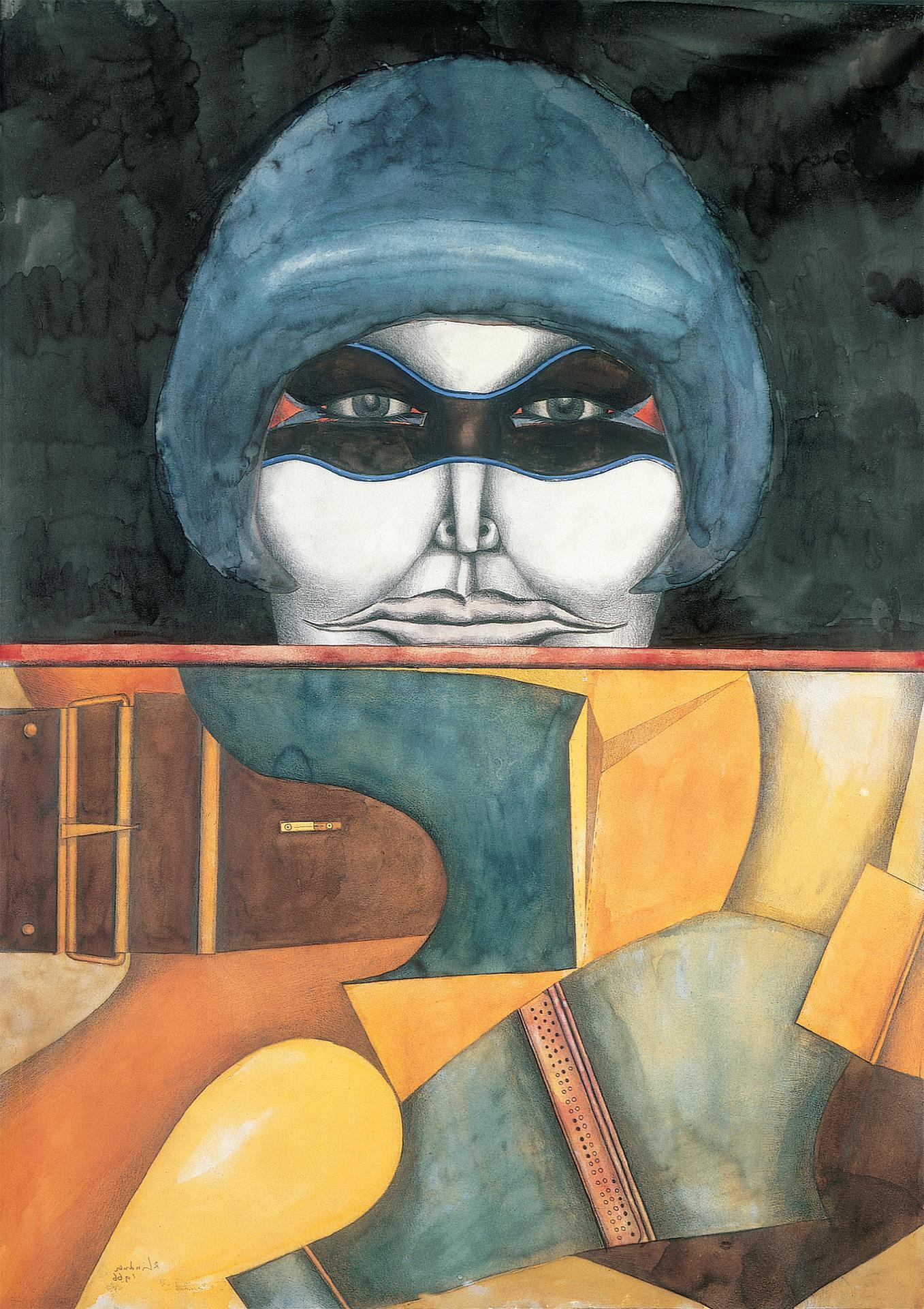Untitled (Masked Woman), 1966