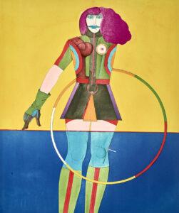 Girl with Hoop, 1969