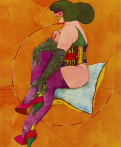 Pillow and almost a Circle, 1969