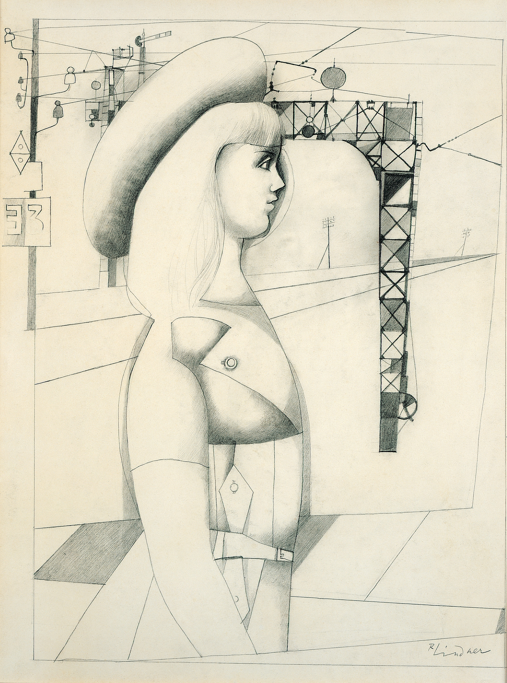 Untitled (The Artist's Wife), 1952