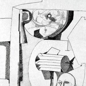 Still Life with Head, 1957