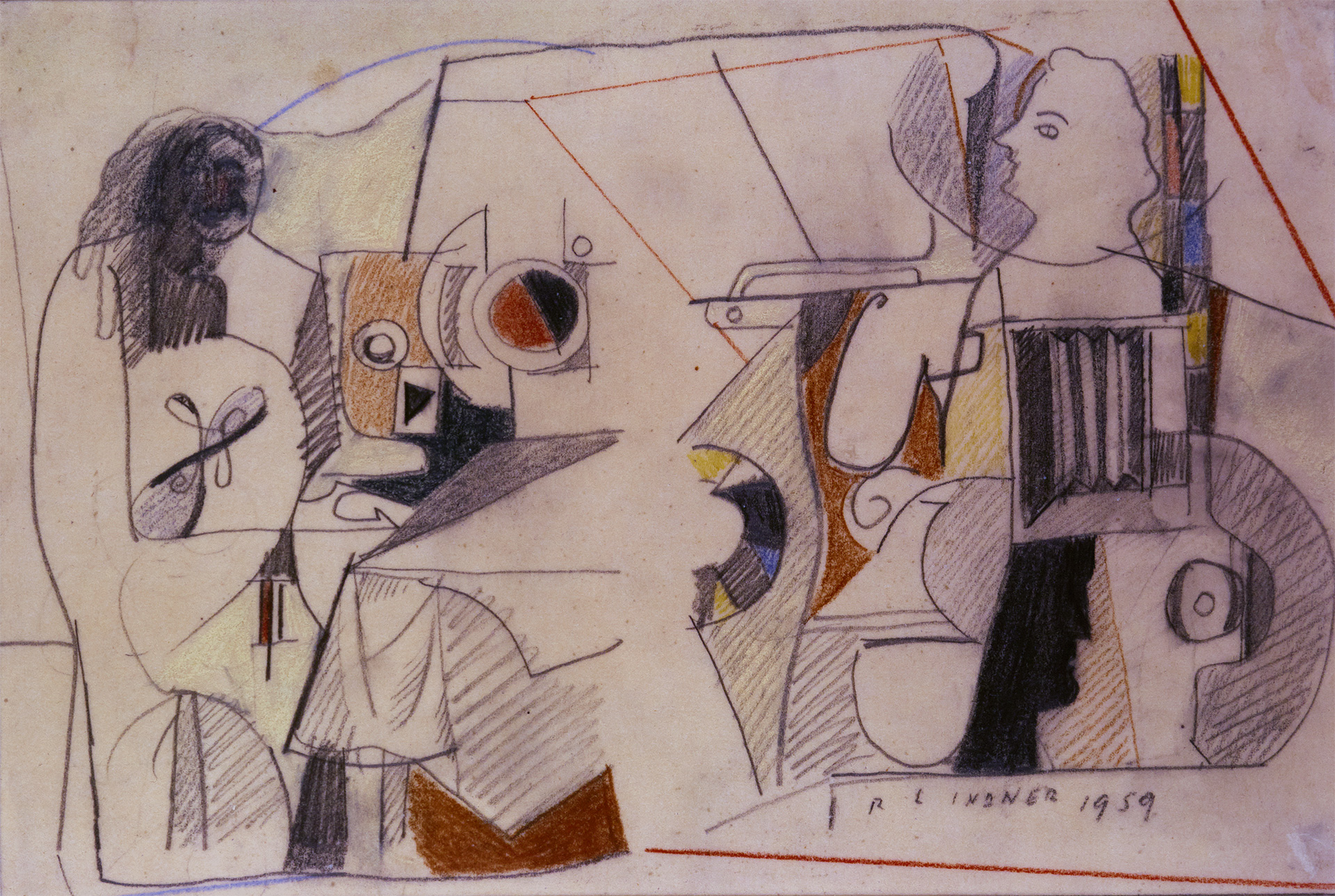 Untitled No. 4, 1959