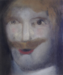 Man with Moustache, 1960