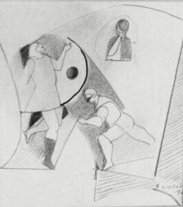 Study for The Secret, 1960