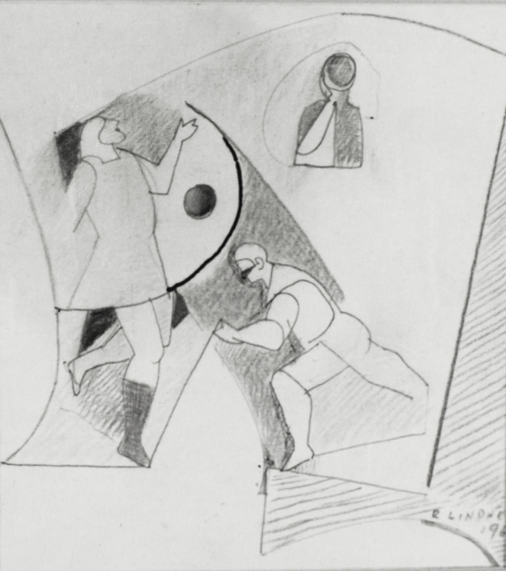 Study for The Secret, 1960