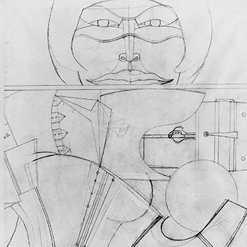 Untitled (Masked Woman), 1964-69