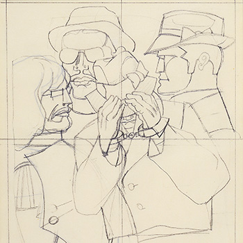 Study for New York Men, 1968