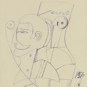 Locarno, Tegna Ticino (Sketch No. 11), 1969-70