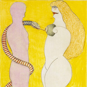Study for And Eve (How it al Began), 1969-70