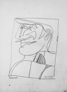 Study for Profile, 1969-73