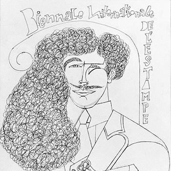 Biennale Internationale de l'Estampe, 1972