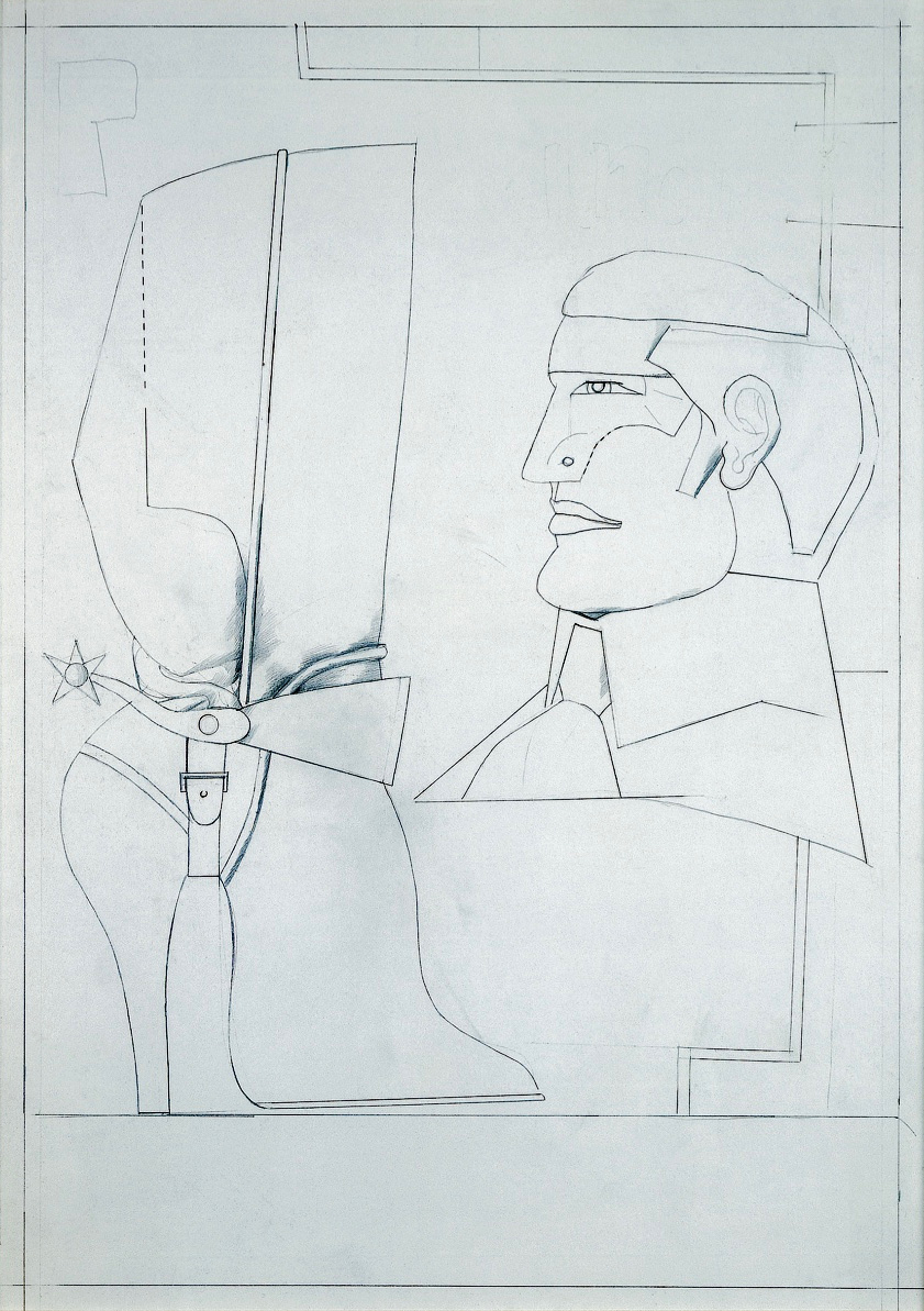 Tête d'homme, 1973