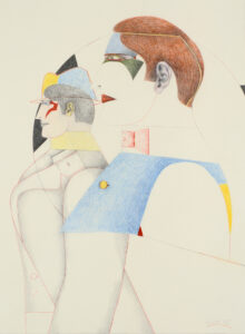 Two Profiles, 1977