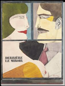 cover eugene lonesco richard lindner Derrière le miroir n°226, Maeght