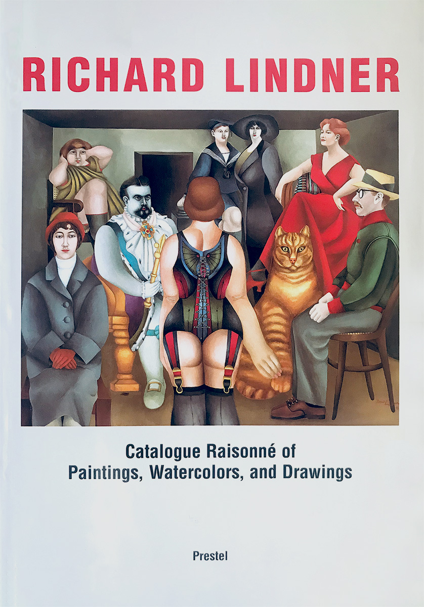 cover grand catalogue raisonné richard lindner